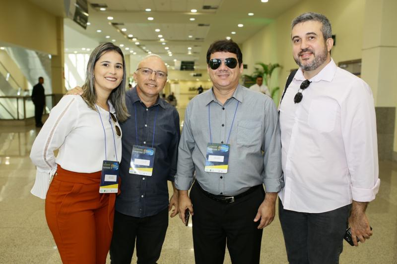 Patricia Martins, Kylderi Lobo, Higo Carlos e Rodrigo Amaral