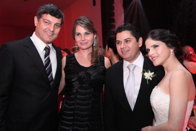Cid e Joyce Marconi, Pompeu Vasconcelos e Marilia Quintao