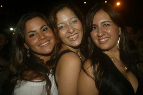 Danielle Gondim, Aline Mesquita e Marcela Fontenele