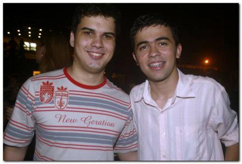 Filipe Martins e Guirlano Alcantara