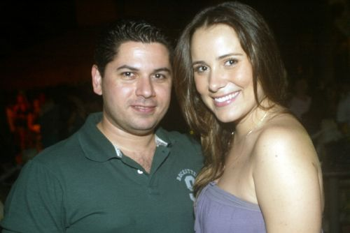 Pompeu Vasconcelos e Tici Machado