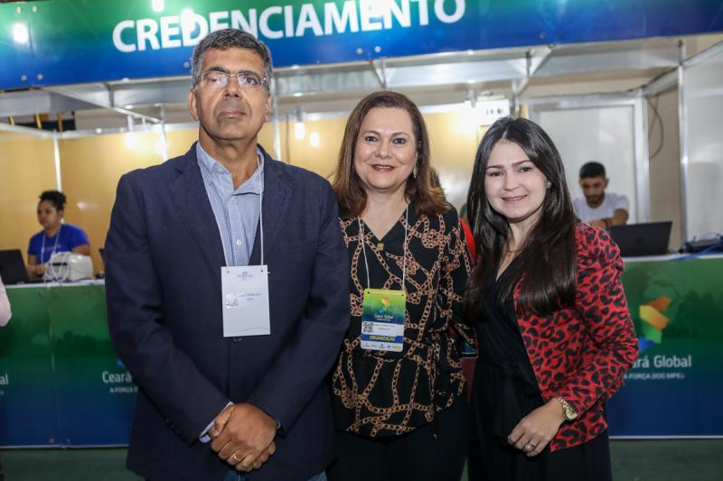Lauro Chaves, Marta Campelo e Darla Lopes