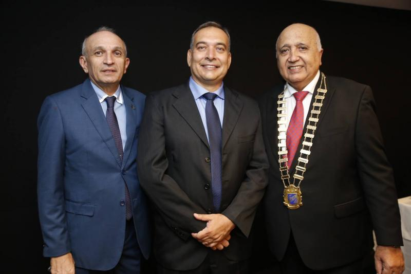 Licinho Correa, Madson Cardoso e Epitacio Vasconcelos