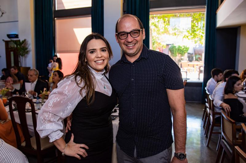 Daniela Camurca e Alfredo Nasser