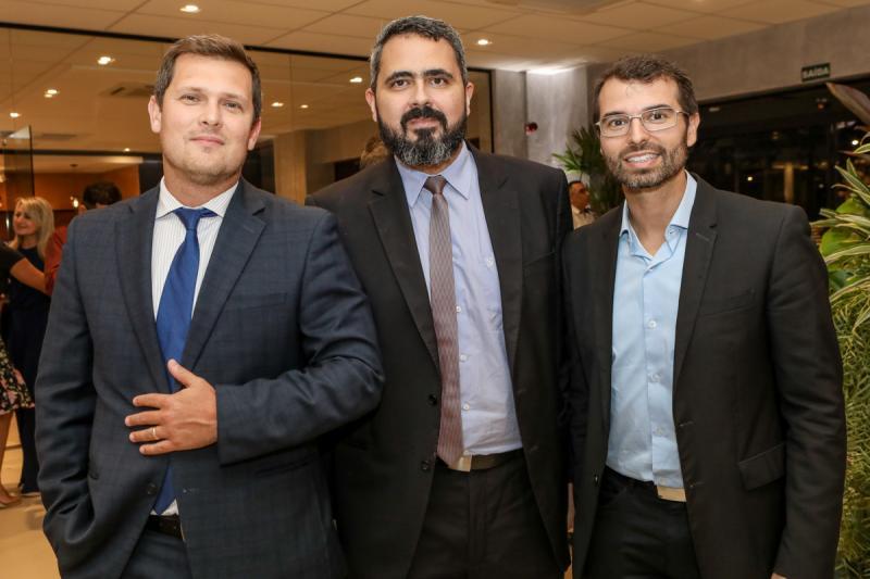 Rafael Furtado, Milton Sobreira e Thomaz Figueiredo