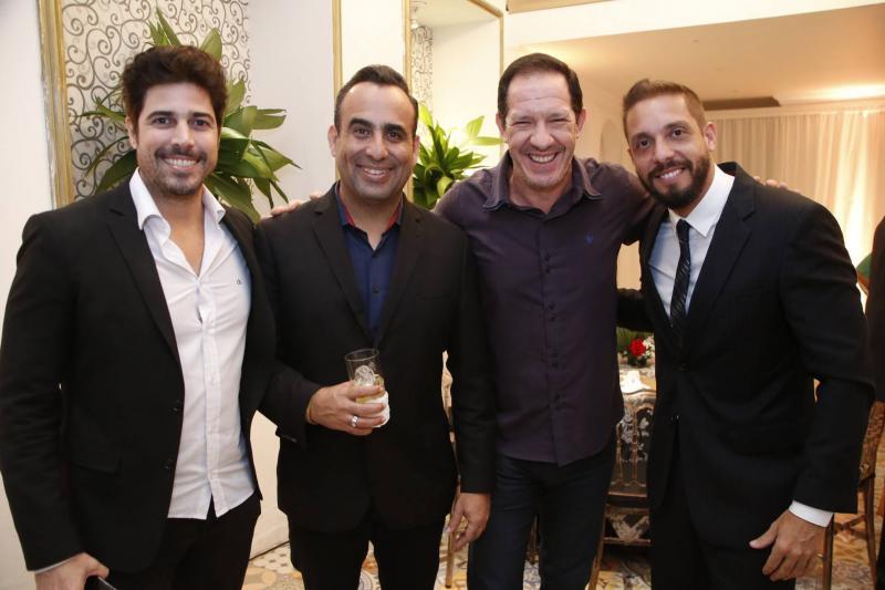 Alex Bezerra, Henrique caul, Rudney Feital e Joao Paulo Guimaraes