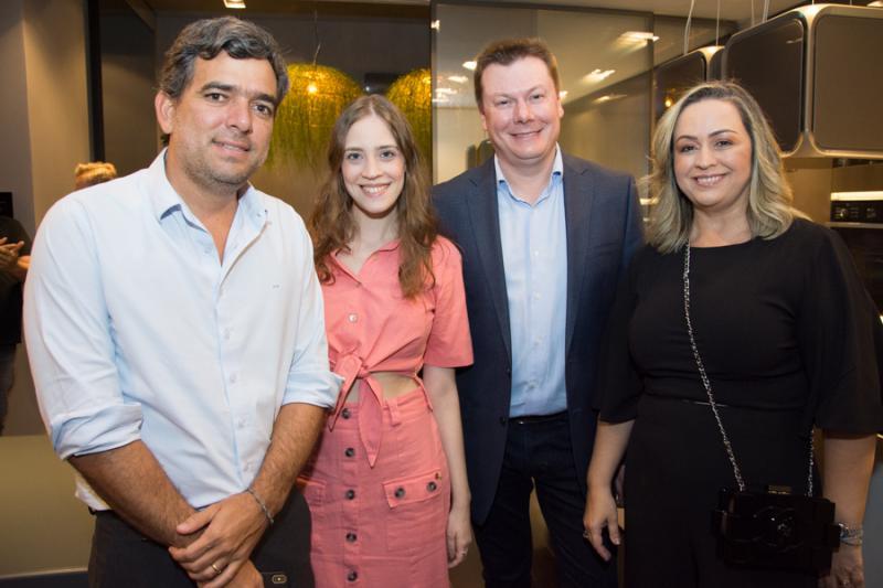 Marcelo e Priscila Bonorandi, Carlos Gelatti e Elisandra Laitener