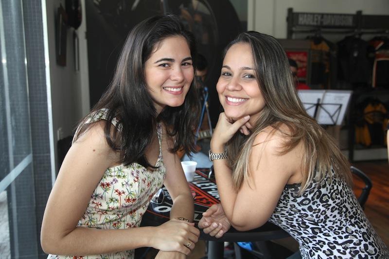 Rebeca Gondim e Milena Uchoa