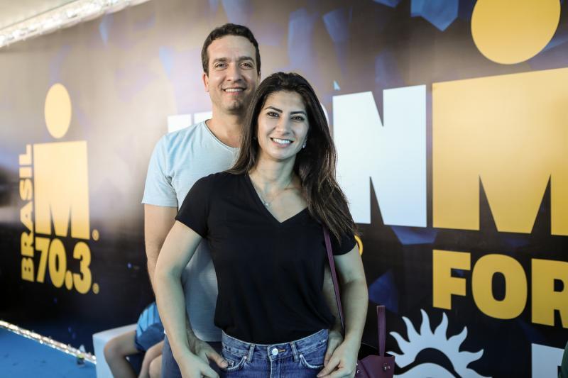 Felipe Macedo e Barbara Roriz