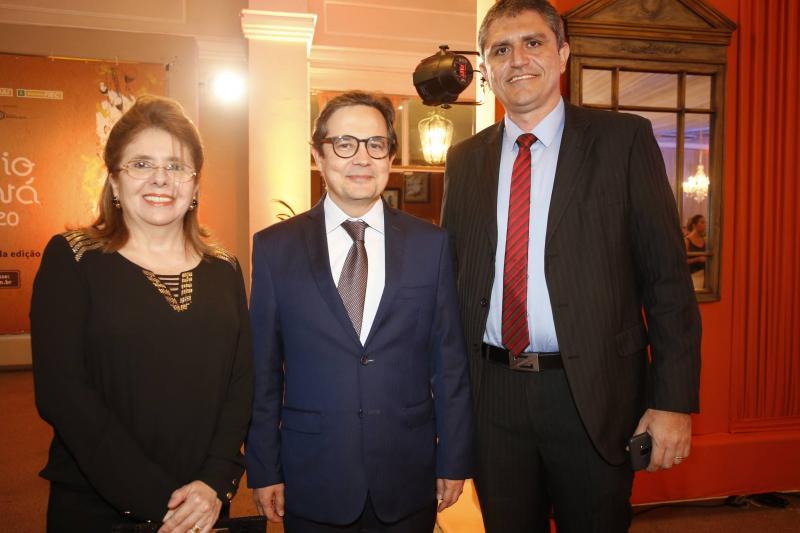 Ana Liade, Edilberto Pontes e Lindsei Forte