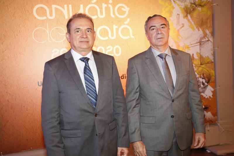 Washington Araujo e Luiz Eduardo Menezes