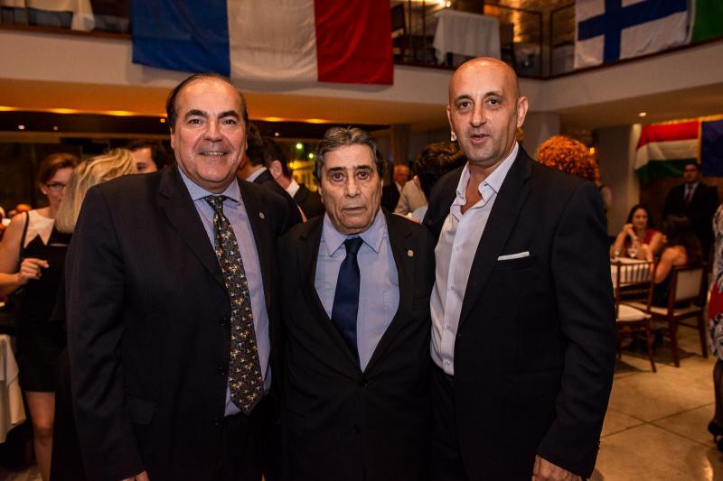 Cesare Vilhone, Roberto Misici e Mariano Musto