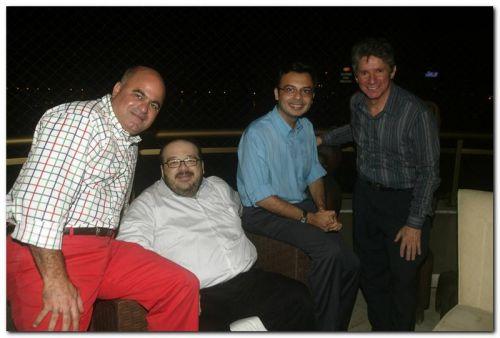 Luciano Cavalcante, Feliciano Junior, Carlos Eduardo e Padua Lopes