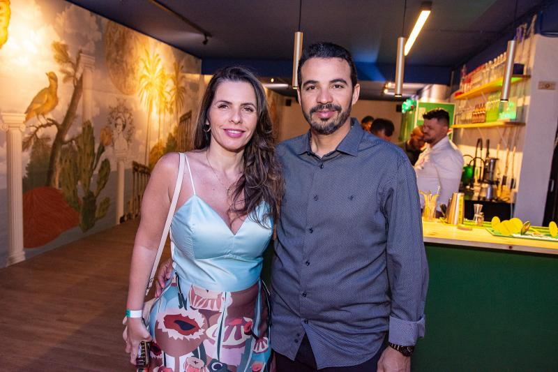 Roseane e Fabiano Monteiro