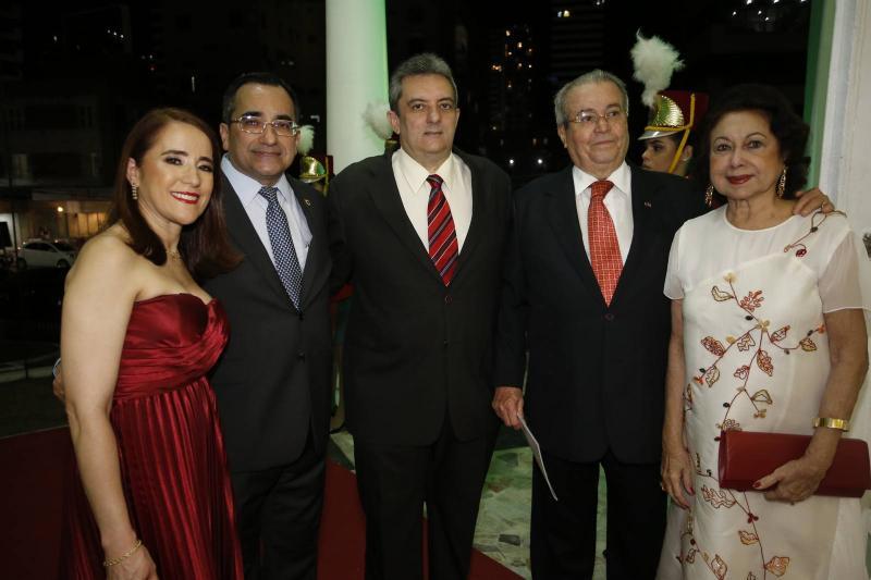 Fatima Goncalves, Jardson Cruz, Joaquim Guedes Neto, Meton Cesar e Yolanda Vasconcelos