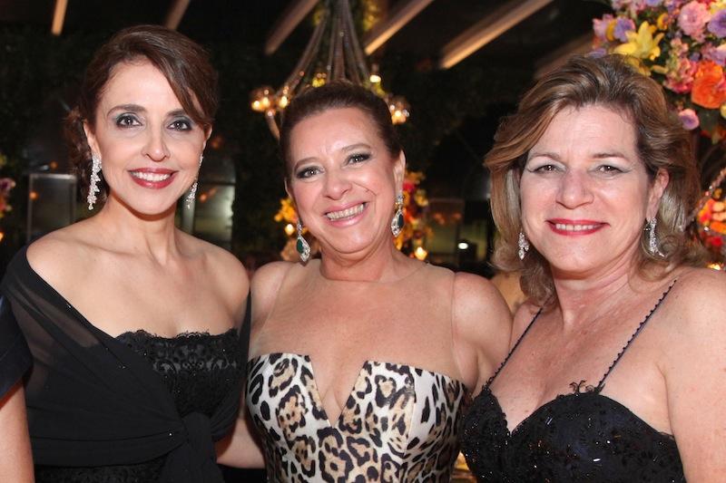 Denise Rolim, Bricia Teixeira e Stela Rolim