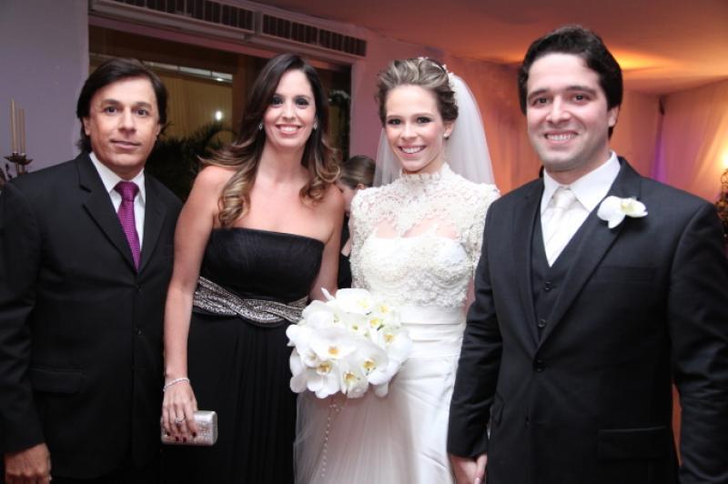 Tom e Patricia Cavalcante, Natalia Ventura e Lucas Pontes
