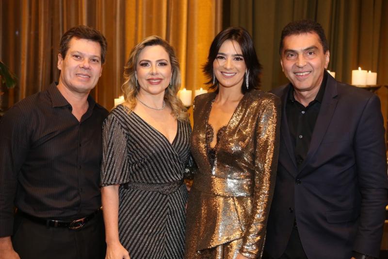 Claudio, Suyane Dias Branco, mariana e Idezio Rolim
