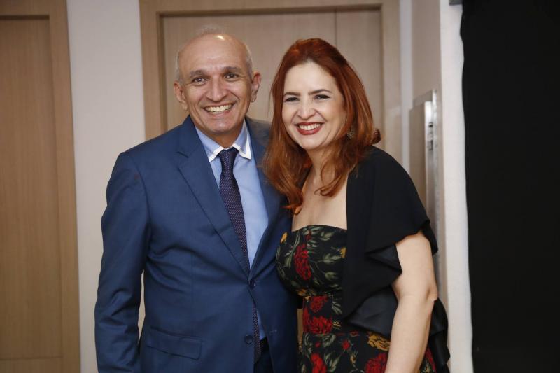 Licinho Correa e Enid Camara