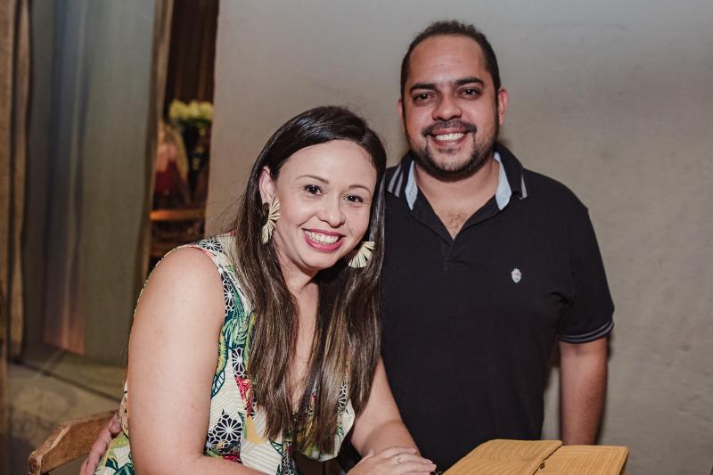 Berenice e Diogo Borges