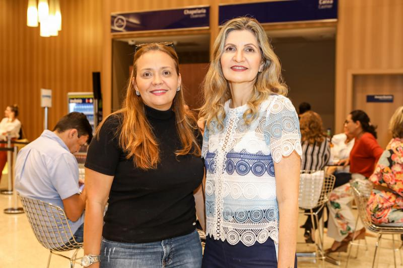 Jeane Magalhaes e Laura Paiva