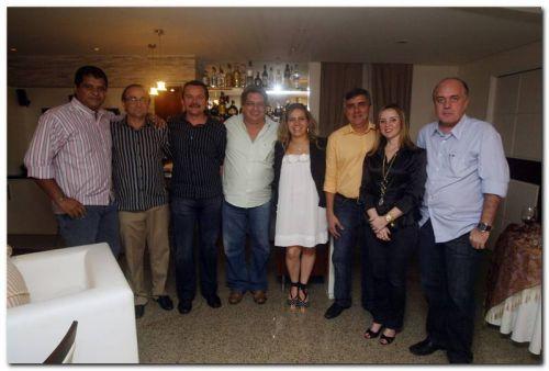 Raimundo Neto, Tin Gomes, Eulálio Costa, Fred Fernandes, Luizianne Lins, Pedro Joffyli, Nicolle Barbosa e Fernando Esteves