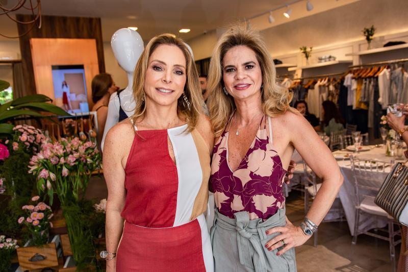 Ana Paula Daud e Germana Cavalcante