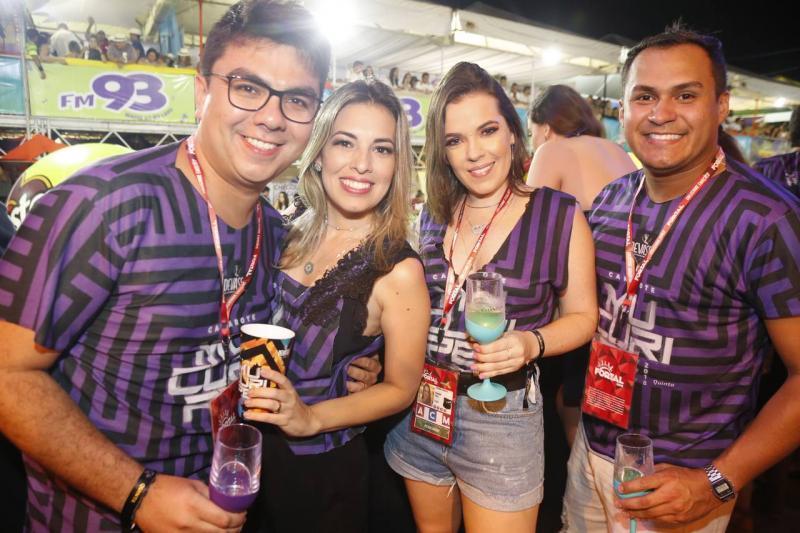 Rolf e Emanuelle Campos, Lucianna Andrade e Kaion Barbosa