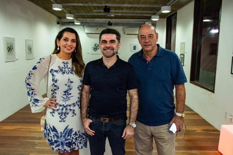 Marcia Travessoni, Isaac Furtado e Fernando Travessoni