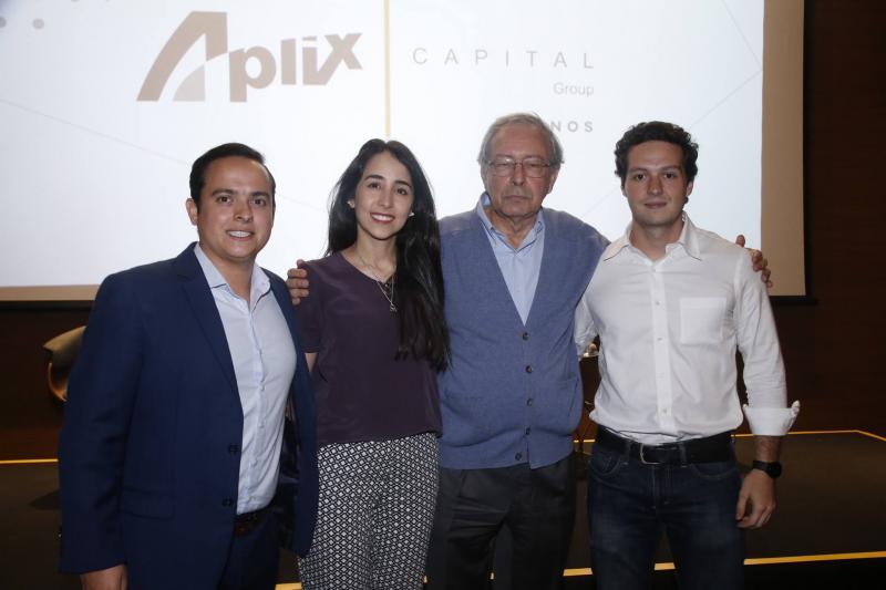 Yuri Veras, Betina Roxo, Luiz Alves e William Cordeiro