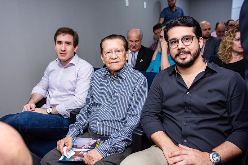 Luis Fernando, Denone Ferreira e Rafael Fujita