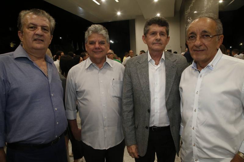 Junior Orterne, Chico Esteves, Augostinho Alcantara e Frederico Castro