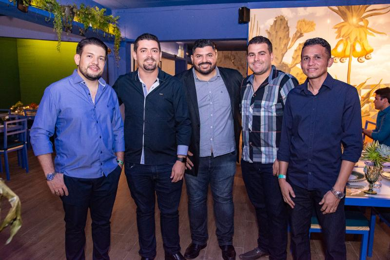 Victor Maia, Joao Alberto, Alisson Lira, Francisco Roberto e Fracisco Jasckson