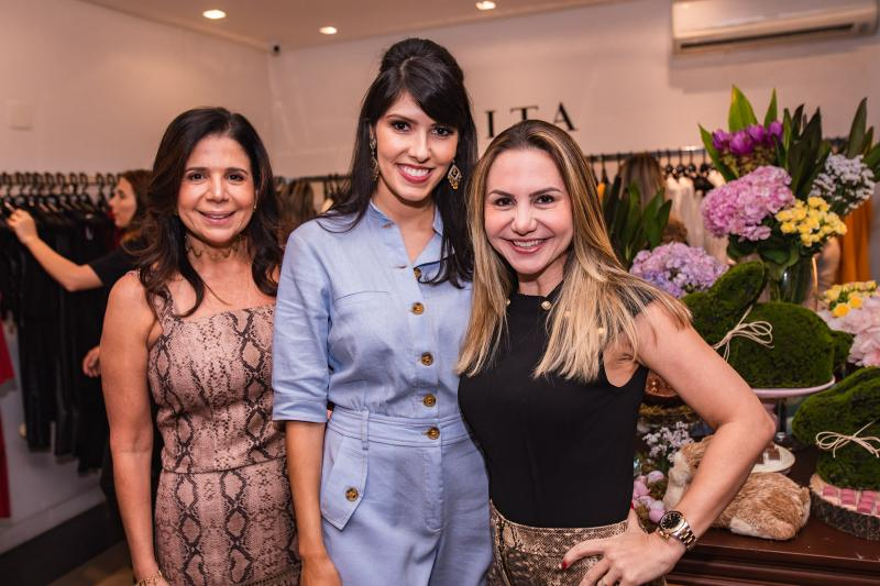 Maria Lucia Negrao, Flavia Laprovitera e Adriana Queiroz