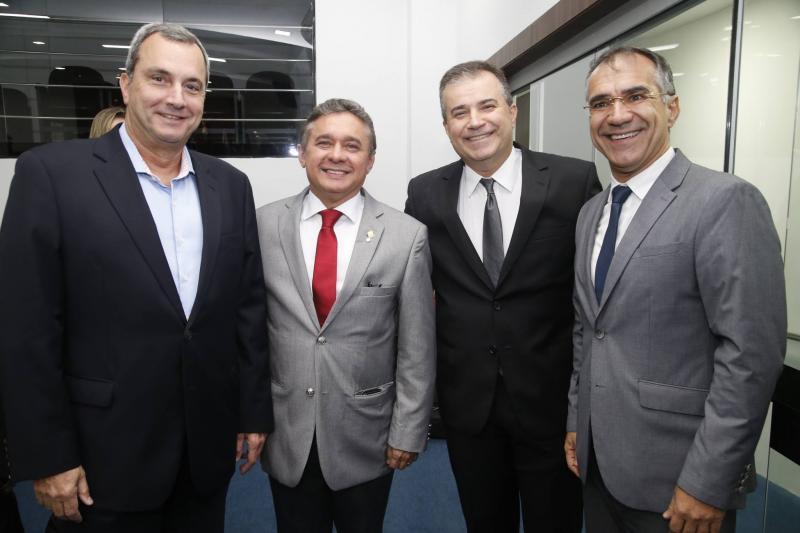 Kalil Otoch, Dr Porto, Ricardo Bezerra e Eduardo Neves