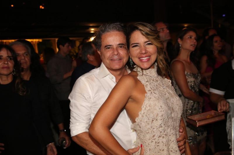 Ivan Bezerra e Ana Carolina Fontinelle