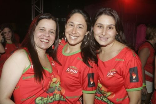 Isabelle Borges, Larissa Coelho e Livia Pamplona