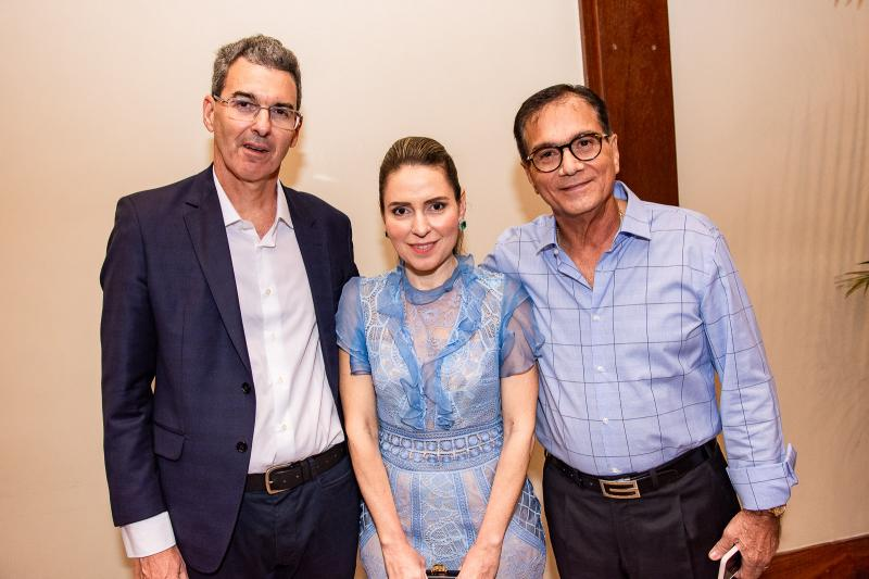 Geraldo Luciano, Agueda Muniz e Beto Studart