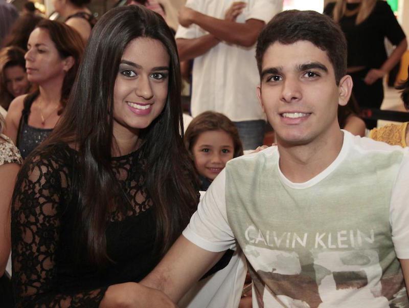 Natalia Almeida e Dario Filho