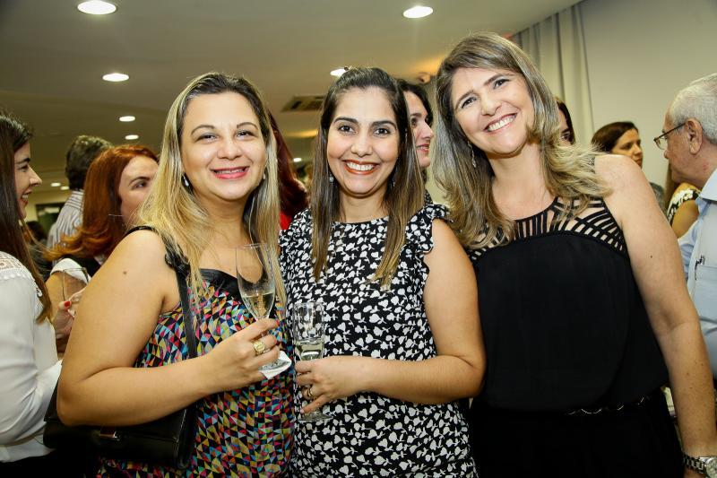 Veronica Ramos, Geisia Vieira e Moeuma Costa