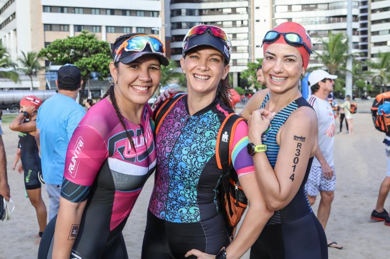 Michele Barbosa, Juliana Gondim e Natalia Pinheiro