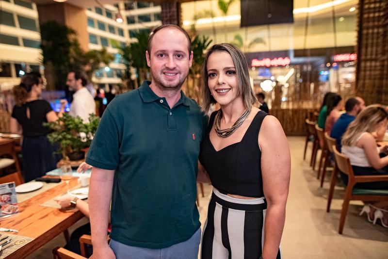 Jonathan Zanel e Manuela Correia