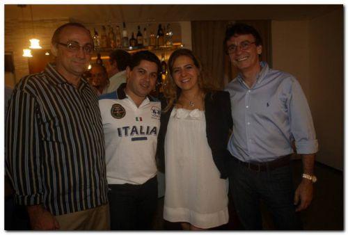 Tin Gomes, Pompeu Vasconcelos, Luizianne Lins e Francílio Dourado