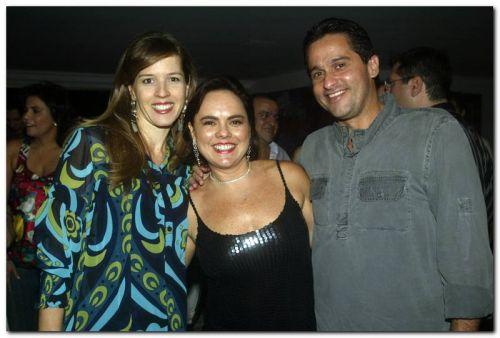 Vanessa Leitão, Denise Cavalcante e Wellington Leitao