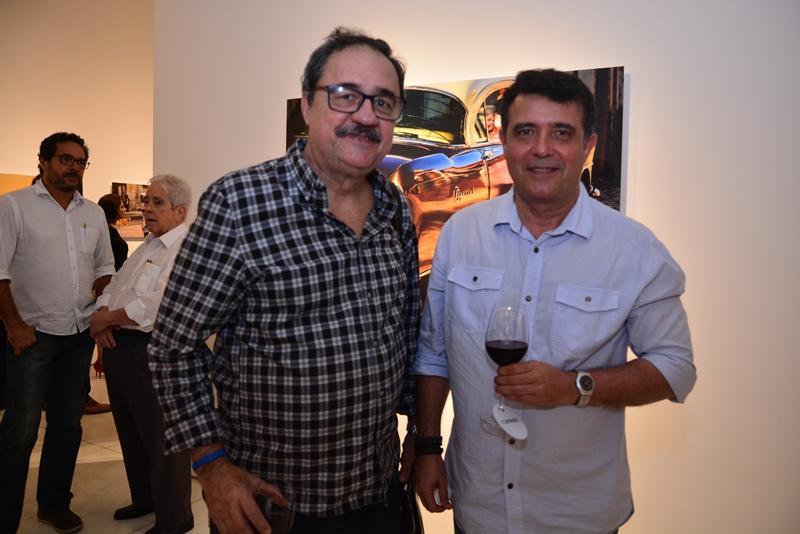 Custodio Santos e Marcos Lima
