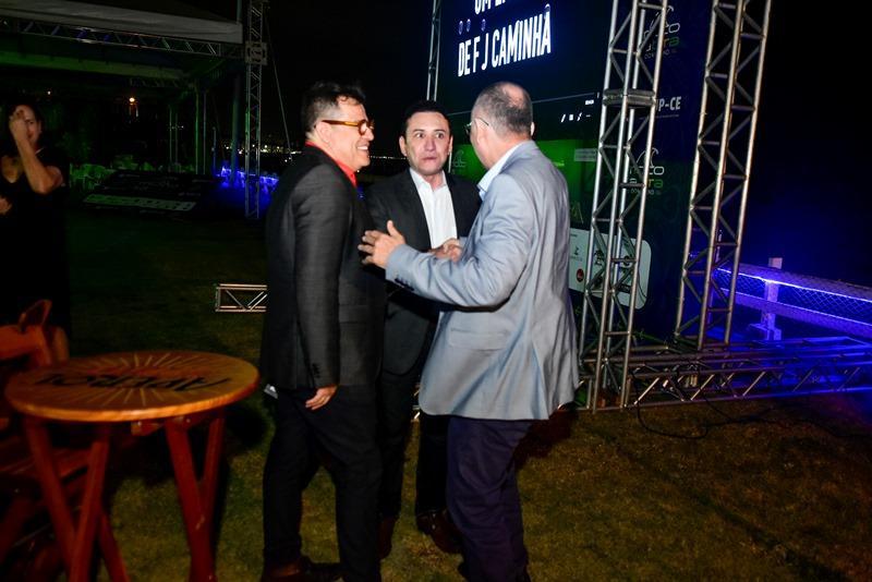Dimas Oliveira, Adail Carneiro, Francisco Caminha