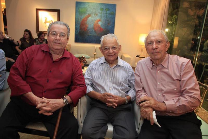 Meton Vasconcelos, Ary Albuquerque e Ronaldo Pontes