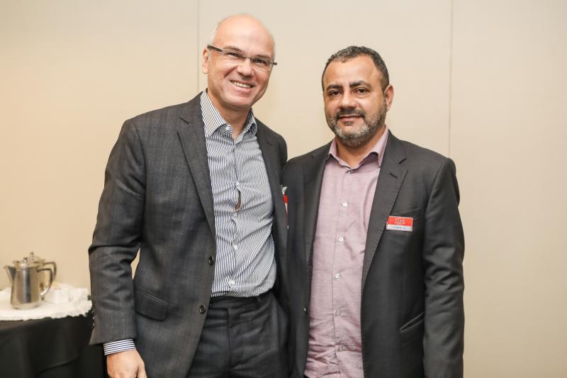 Yuri Colares e Vicente Junior