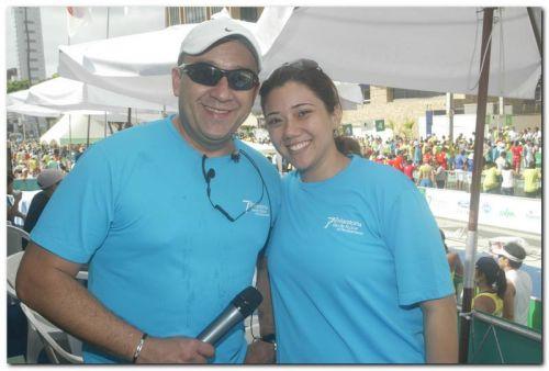 Paulinho Leme e Rafaela Sampaio