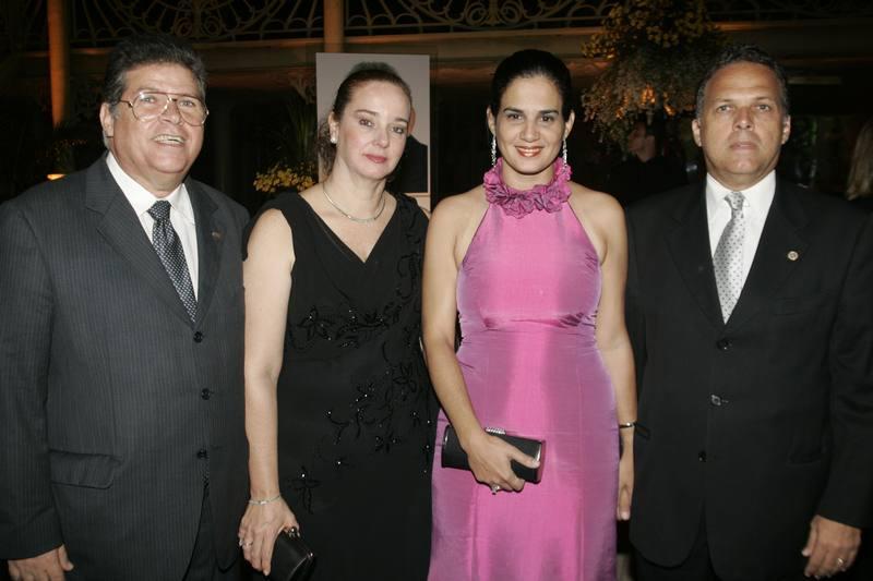 Francisco, Ana Maria, Cecilia e Vicente de Francesco